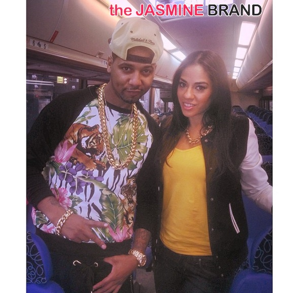 juelz santana-sharon carpenter-the affordable care act-get covered tour-nyc 2014-the jasmine brand