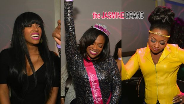 No Boys, Allowed! Kandi Burruss Celebrates Bachelorette Party With Porsha Williams, Phaedra Parks