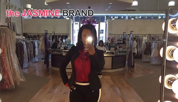 Almost A Married! Kandi Burruss Caught Shopping for Wedding Gowns?