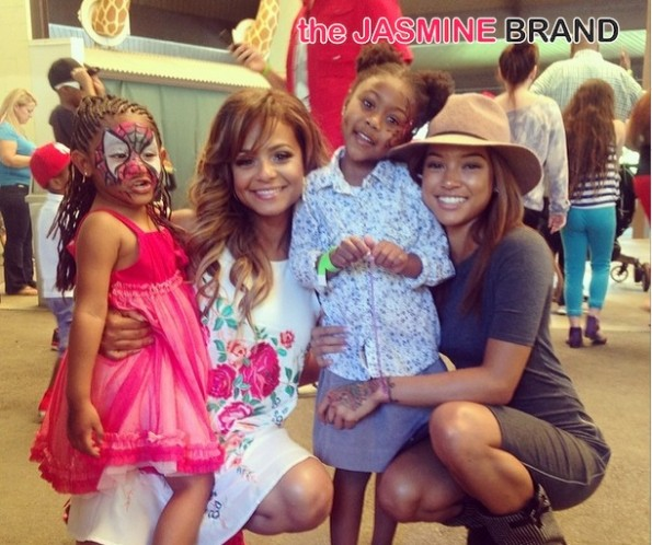 karrueche-christina milian-daughter violet 4th birthday 2014-the jasmine brand