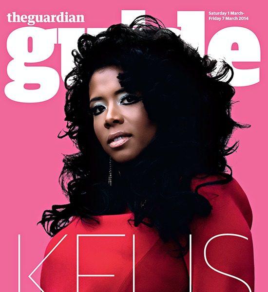 Kelis Covers The Guardian Guide: Talks 'Food', Divorce & Labels