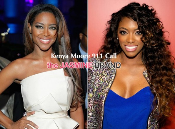 kenya moore-911 calls-after alleged reunion attack by porsha williams-the jasmine brand