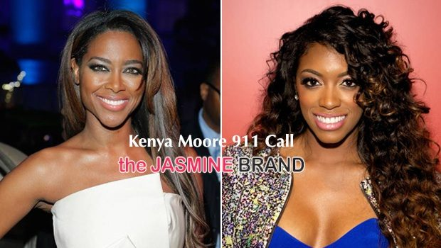 [AUDIO] Kenya Moore 911 Call After Alleged Reunion Attack by Porsha Williams: She hit me in my head!