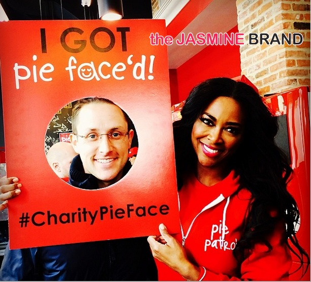 kenya moore-charity pie face-celebrity apprentice-the jasmine brand