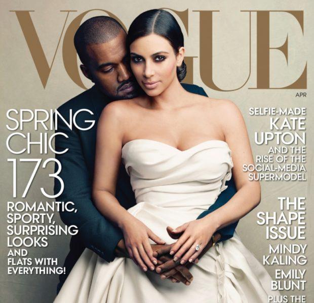 Kim Kardashian FINALLY Makes VOGUE Cover With Kanye West: #WorldsMostTalkedAboutCouple