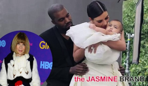 kim kardashian-kanye west-baby north-vogue-the jasmine brand