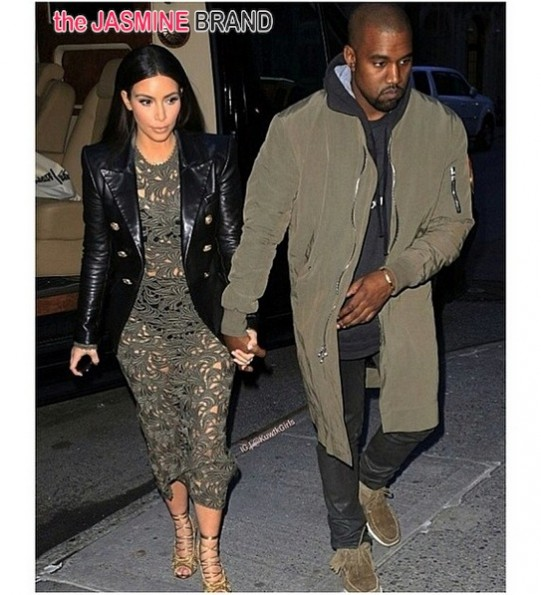 kim kardashian-kanye west-dinner date-the jasmine brand