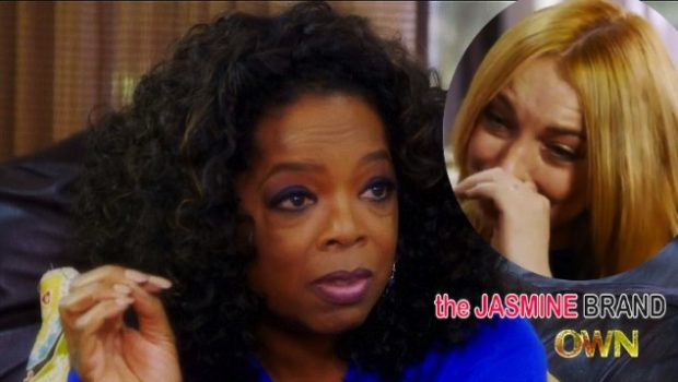 [WATCH] Lindsay Lohan Explains Her Relationship With Oprah