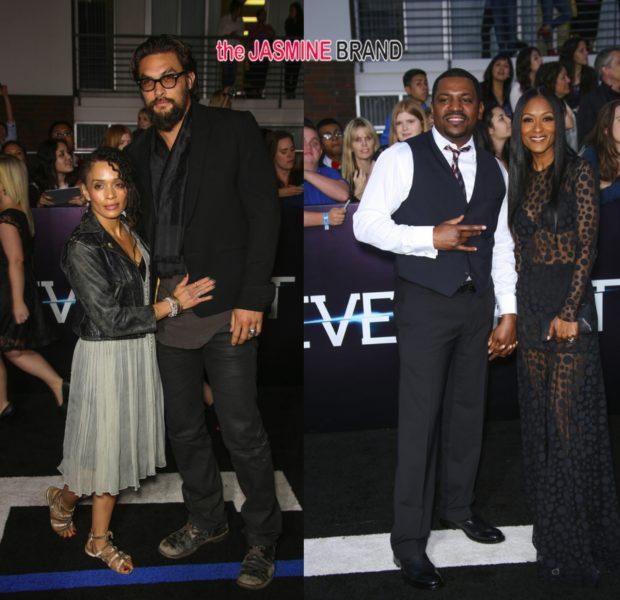 Zoe Kravitz, Jaden Smith, Mekhi Phifer & Lisa Bonet Attend 'Divergent' Premiere