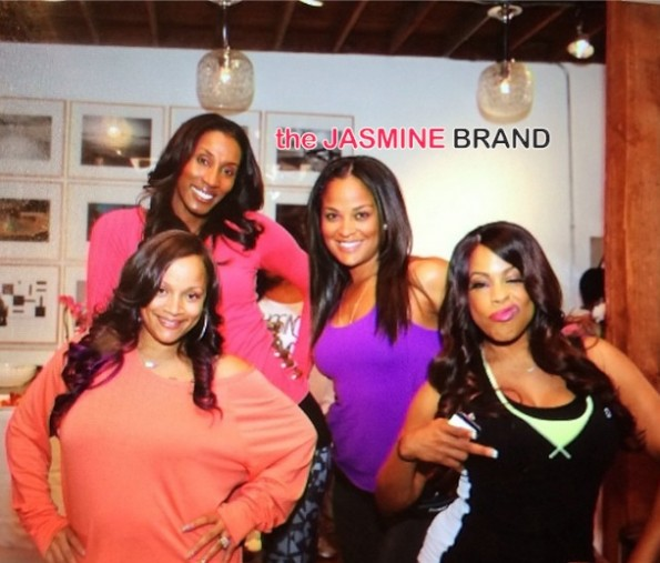 lisa leslie-niecy nash-ll cool j wife-simone smith-celebrates fitness birthday-the jasmine brand