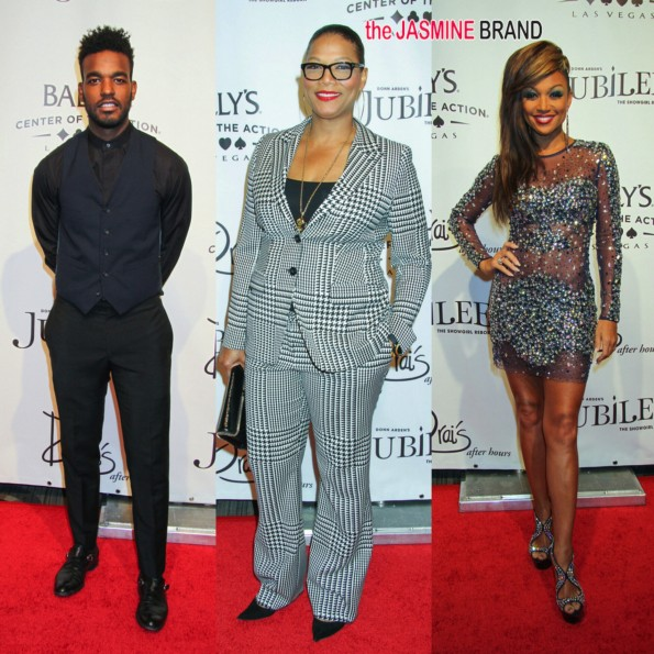 luke james-queen latifah-RB Divas la chante moore-jubilee las vegas 2014-the jasmine brand