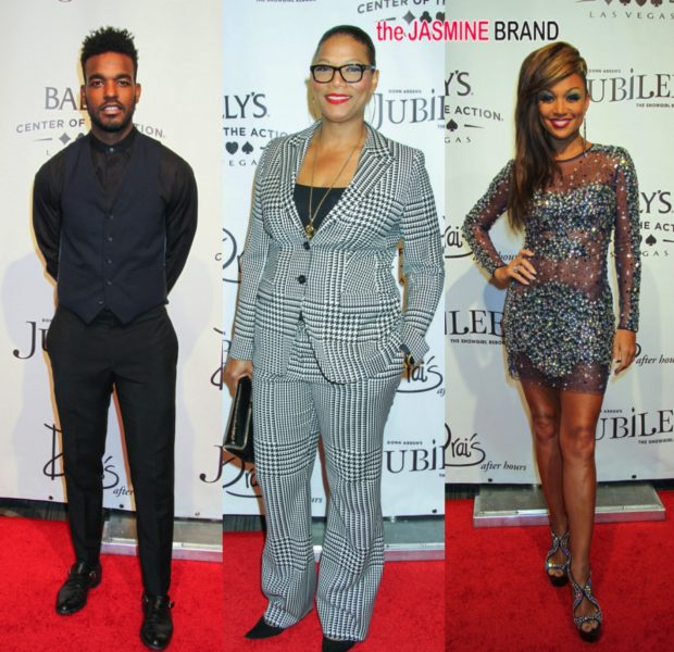 Queen Latifah, R&B Divas LA's Chante Moore & Luke James Attend 'Jubilee' In Las Vegas