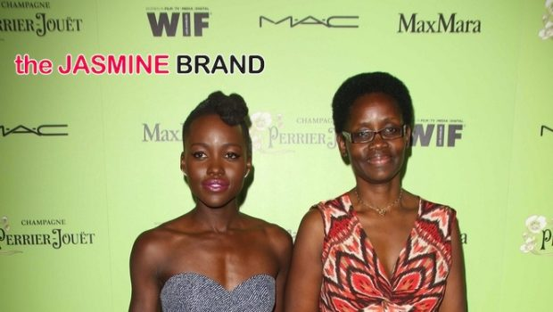 Mommy & Me: Lupita Nyong'o Brings Mother to Pre-Oscar Cocktail Party in West Hollywood