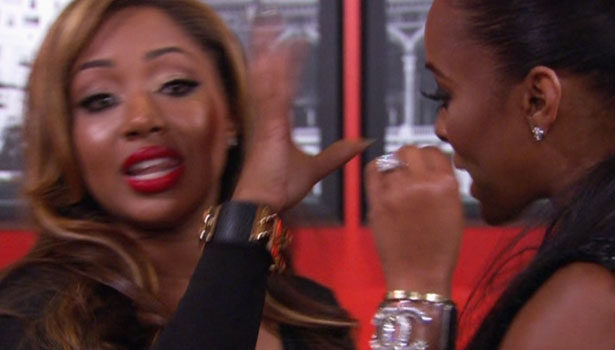 [Basketball Wives LA] A Dry A$$ 'Hi' Almost Sparks Physical Brawl + Watch Episode 4