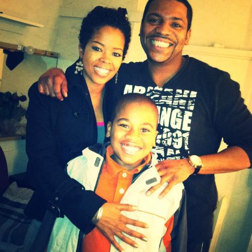 Malinda Williams with her first husbandMekhi Phifer and sonOmikaye