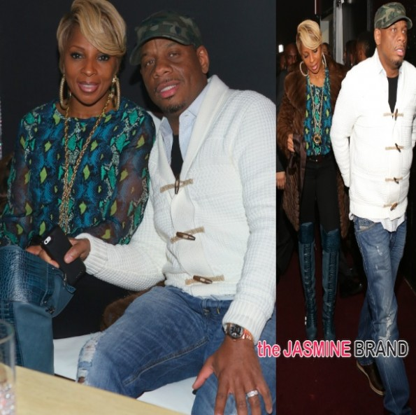 mary j blige-husband kendu isaacs-rick ross release party 2014-the jasmine brand