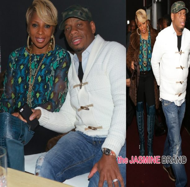 Celebrity Cup Cakin': Mary J Blige & Hubby Kendu Party in Charlotte