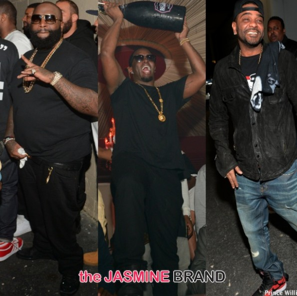 mastermind-album release party atlanta 2014-diddy-jim jones-the jasmine brand