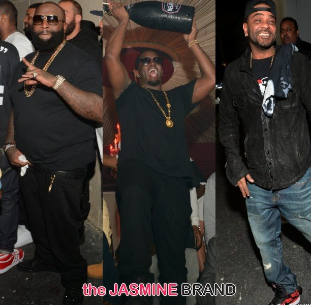 [Photos] Diddy Hosts Rick Ross Mastermind Release Party With Wale, Future & Friends