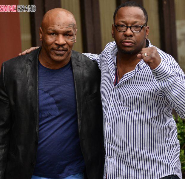 Bad Boys Bobby Brown & Mike Tyson Take Beverly Hills, Tiny Films 'Entourage' Movie + Brandy & Lauren London Play Cutesy!