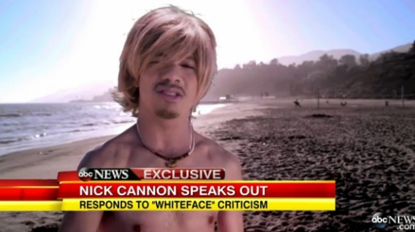 nick cannon-defends white face-the jasmine brand