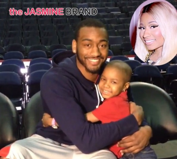 nicki minaj-john wall-grants 5 year old cancer patient wish-the jasmine brand