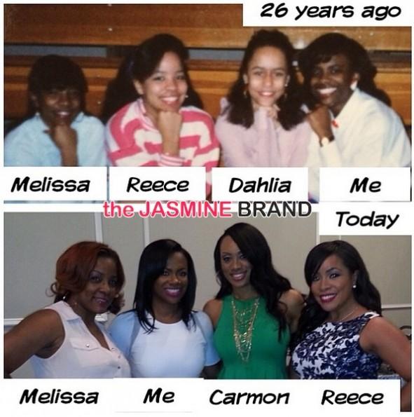 old school child hood friends-real housewives of atlanta-kandi burruss-bridal shower-wedding special 2014-the jasmine brand