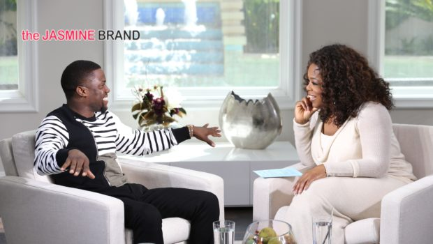 [VIDEO] Kevin Hart Talks Blowing Money, Cheating & Marrying Girlfriend On 'Oprah Prime'