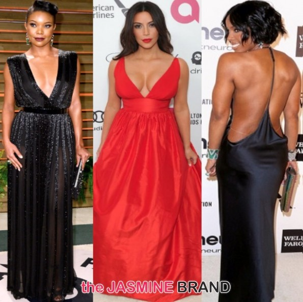 oscar after party-gabrielle union-kelly rowland-kim kardashian 2014-the jasmine brand