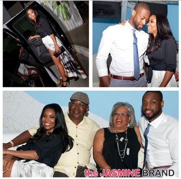 parents-gabrielle union-dwyane wade-engagement party 2014-the jasmine brand