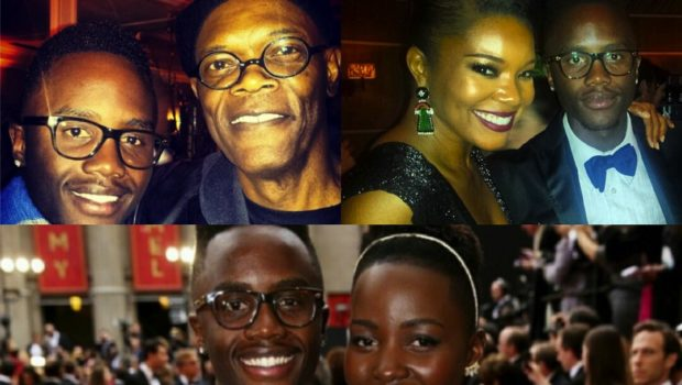 Photo Bomb King: Has Lupita Nyongo's Brother Wore Out His Celebrity Welcome?