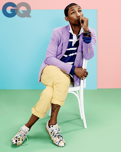 pharrell-gq magazine april 2014-the jasmine brand