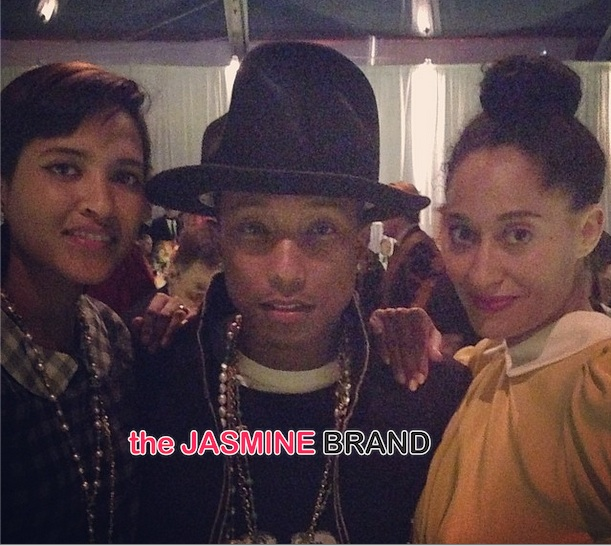 pharrell williams-wife helen-tracee ellis ross-MOCA 35th anniversary gala 2014-the jasmine brand
