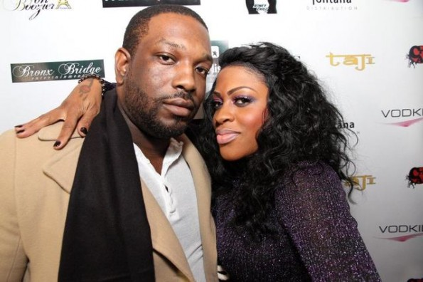 Lil Mo and husband Phillip Bryant-The Jasmine Brand