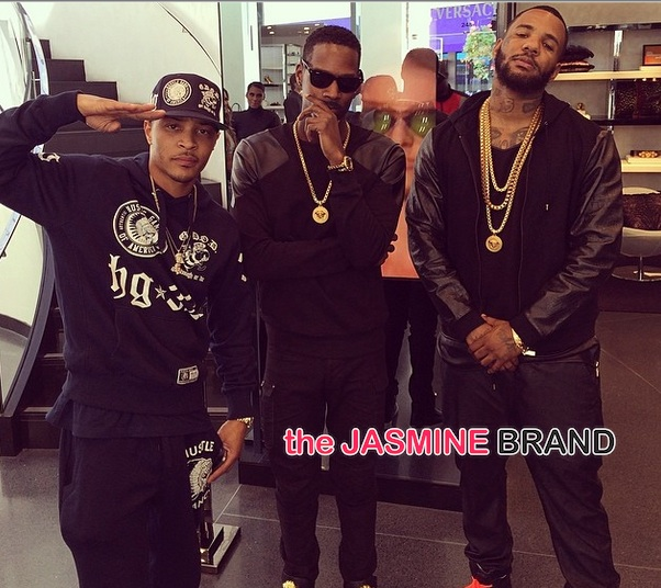 The Game Brings Charity to Rodeo Drive: T.I. Lisa Raye, Rachel Roy & More Famous Friends Support