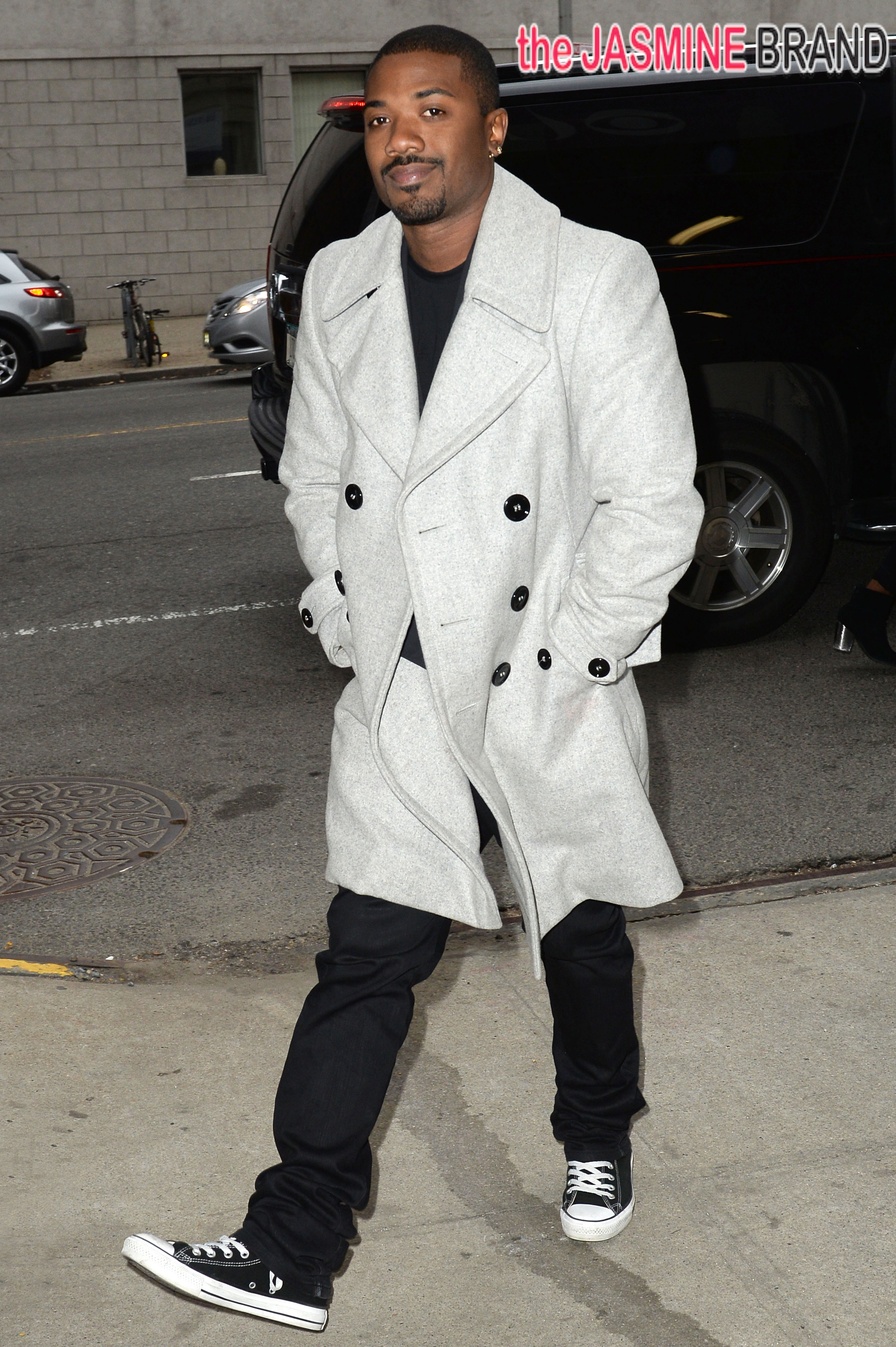 Ray J and Josh Holloway visit the CBS 'This Morning' show in Manhattan