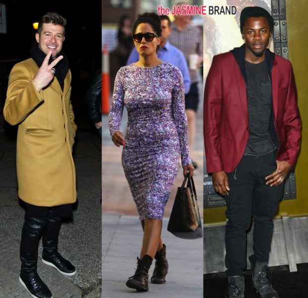 Celebrity Stalking: Robin Thicke, Tracee Ellis Ross, Maxwell & More