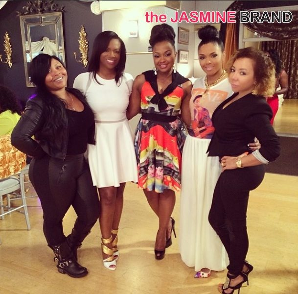 Celebration Time! Kandi Burruss' Bridal Shower Brings Out Mama Joyce, Phaedra Parks & More Reality Stars