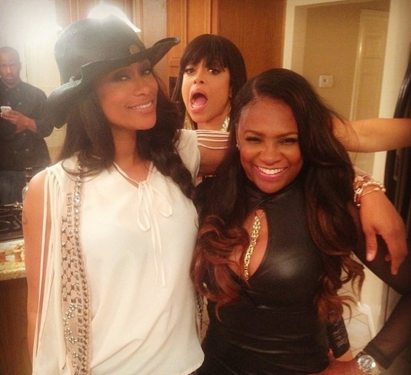 stacy francis-tami roman-shoots new spin-off-the roman empire 2014-the jasmine brand