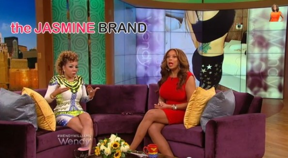 tameka tiny cottles-admits to fake booty-wendy williams-the jasmine brand