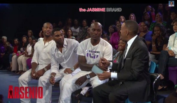 [VIDEO] Arsenio Hall Has Change of Heart, Welcomes TGT's Tyrese, Tank & Ginuwine Back to Show