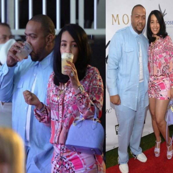 timbaland and wife monique mosley reunite 2014-the jasmine brand
