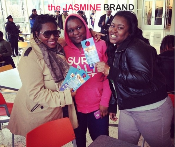 tionna smalls-guests-the affordable care act-get covered tour-nyc 2014-the jasmine brand