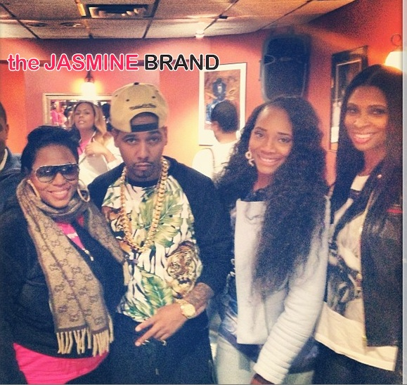 tionna smalls-juelz santana-yandy smith-jennifer williams-the affordable care act-get covered tour-nyc 2014-the jasmine brand