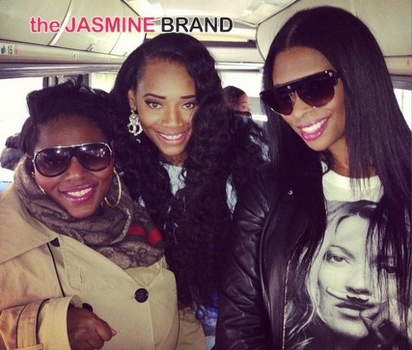 tionna smalls-yandy smith-jennifer williams-bus-the affordable care act-get covered tour-nyc 2014-the jasmine brand