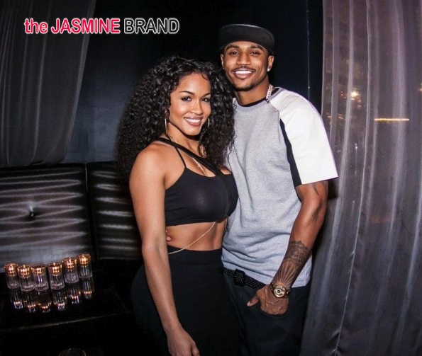 trey songz-rosa acosta video premeire party 2014-b-the jasmine brand
