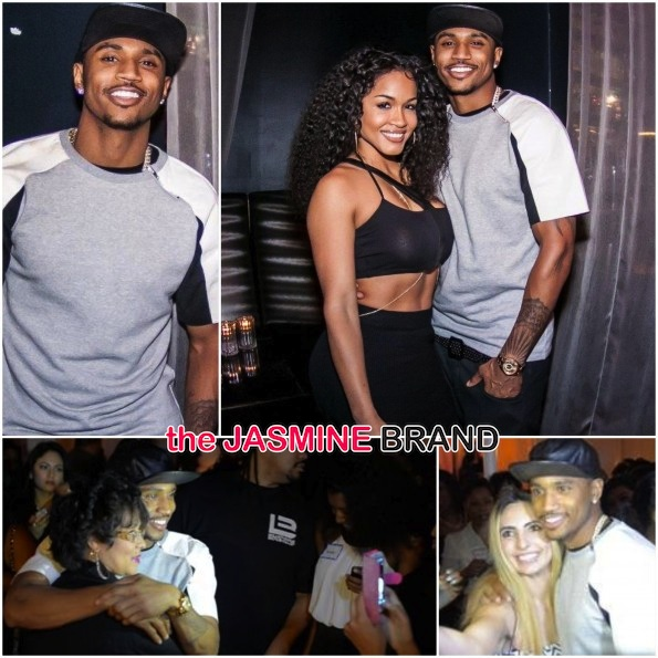 "[Photos] Trey Songz Host LA Pop Up Premiere for New Video ""Nana"" Featuring Rosa Acosta"