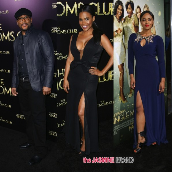 tyler perry-nia long-the single moms club movie premiere 2014-the jasmine brand