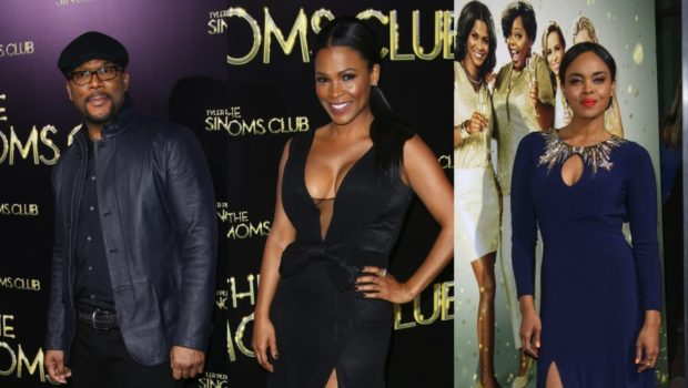 [Photos] Nia Long, Tyler Perry & Cocoa Brown Attend 'The Single Moms Club' Premiere in Hollywood
