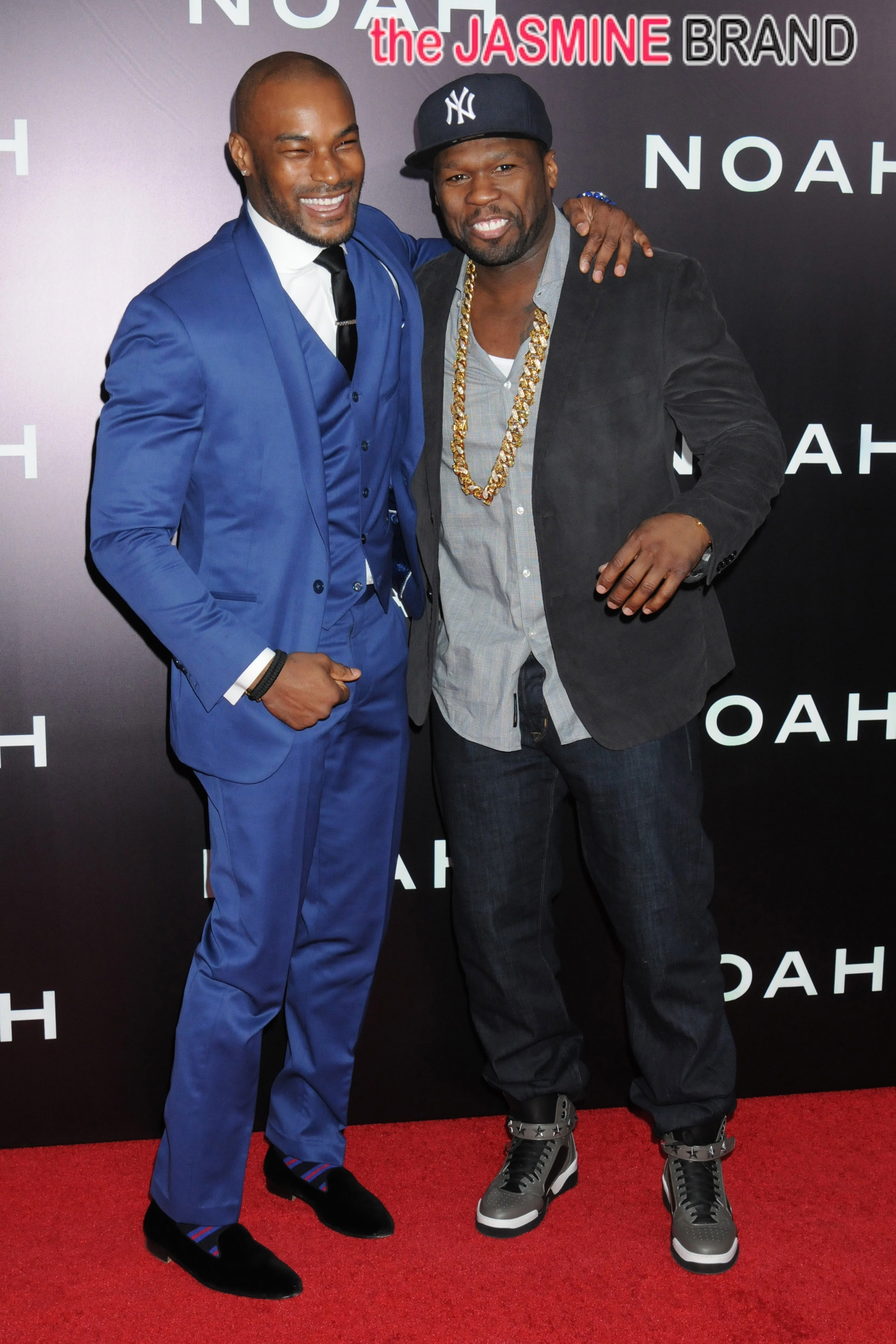Arrivals at the Premiere of 'Noah' in NYC